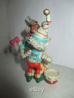 1992 ENESCO The North Pole Village FROSTY & MASON Figurine BAKERY Elves 830887