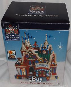 2006 Lemax Carole Towne Collection North Pole Toy Works Christmas Village In box