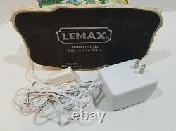 2007 Lemax Village Collection North Pole Travel Lights, Sound, Animated Working