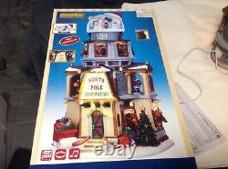 2016 Lemax North Pole Observatory #65132 Mint Sights And Sounds