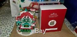 2019 HMK KOC Event Exclusive Magic of Christmas North Pole Village SIGNED+Button