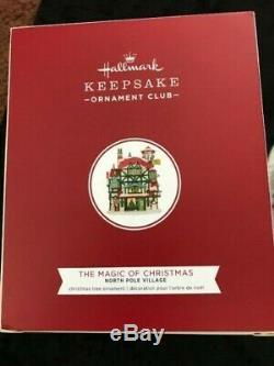 2019 North Pole Village Hallmark KOC Event New The Magic Of Christmas