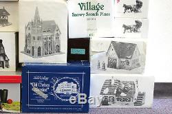 21 Dept 56 Buildings / Accessories Snow Village CIC Dickens North Pole As Is