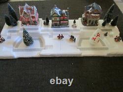 4FT Christmas Village Display Platform J40 For Lemax Dept56 Dickens North Pole