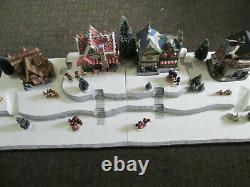 4FT Christmas Village Display Platform J42 For Lemax Dept56 Dickens North Pole
