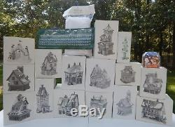 All New Dept 56 Nice North Pole Village Display 14+ Buildings Spell NORTH POLE 1