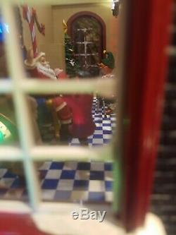 Animated Musical Village K. Kringle's Department Store Mr. Christmas