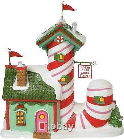 Candy Striper Factory Department 56 North Pole Village 6000613 Christmas Z