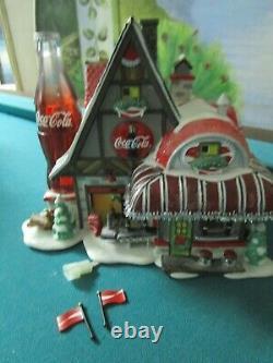 DEPARTMENT 56 Coca-Cola Fizz Factory North Pole Series NEW IN BOX