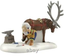 DEPARTMENT 56Better Watch Out Coal MineVillage, Donder Acc, 2Candy Cane Benches
