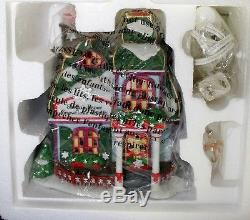 Dept 56 North Pole Village Santa's Paper Snowflake Studio New