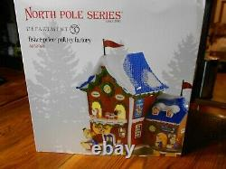 DEPT 56 NORTH POLE Village FISHER PRICE PULL TOY FACTORY NIB