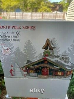 DEPT 56 NORTH POLE Village THE ELF ON THE SHELF SCOUT ELVES IN TRAINING NIB