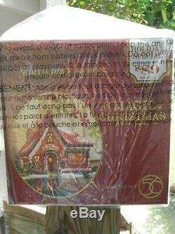 DEPT 56 NORTH POLE Village THE MAGIC OF CHRISTMAS NIB (Elf Bunkhouse) Sealed
