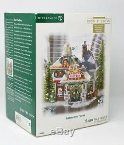 DEPT 56 North Pole Village ROBBIE'S ROBOT FACTORY Limited Edition NEW Box 799998