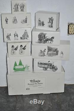 DICKENS VILLAGE Department 56 North Pole Series, Collection, Lot 51 Pc