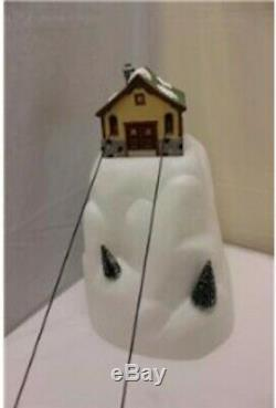 Department 56 52511 Animated Gondola Ski Lift Cable Car Christmas Village WORKS