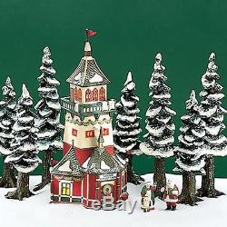 Department 56 56294 North Pole Santas Lookout Tower Heritage Village
