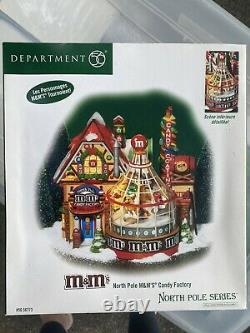 Department 56 Christmas North Pole series M&M Rare Collectible Item