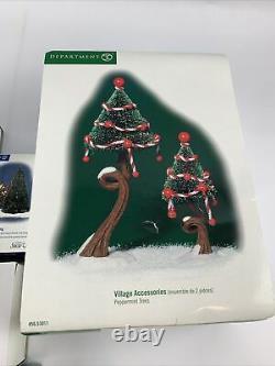 Department 56 Dept Christmas North Pole Series Snow Village #56 Figurine LOT TZ