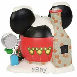 Department 56 Disney Village Mickey's Balloon Inflators Lit Building, 6.75, Mul