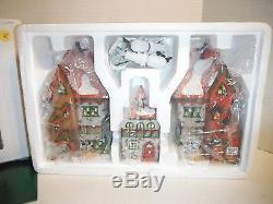 Department 56 Heritage Village 5635-9 North Pole Dolls & Santa's Bear Works 3pc
