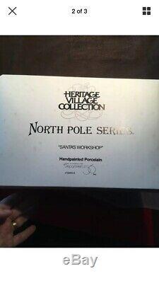 Department 56 Heritage Village Series North Pole Series Santa's Workshop