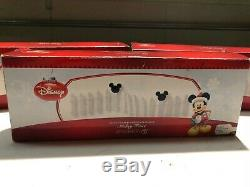 Department 56 Mickey's Merry Christmas Village MICKEY FENCE 2 pieces