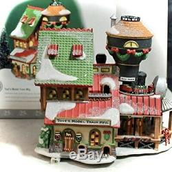 Department 56 NORTH POLE VILLAGE Toot's Model Train 4533469 NEW IN BOX
