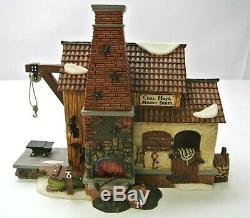 Department 56 New England Village Series Chas. Hoyt Blacksmith 56674