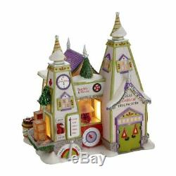Department 56 North Pole Christmas Village Real Artificial Tree Factory 4020205