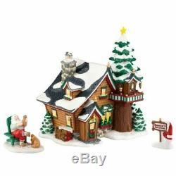 Department 56 North Pole Christmas Village Santa's Getaway Set Special 4033109Q