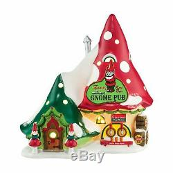 Department 56 North Pole Christmas Village The Happy Gnome Pub 4044836 Retired