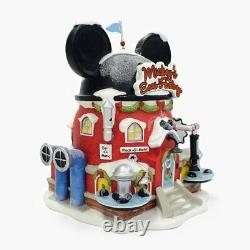Department 56 North Pole Disney Village Mickey's Ear Factory Lit Building