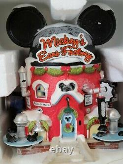 Department 56 North Pole Disney Village Mickey's Ear Factory Lit Building (GC1)