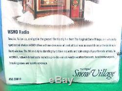 Department 56 North Pole KOLD with Snow Village WSNO Radio