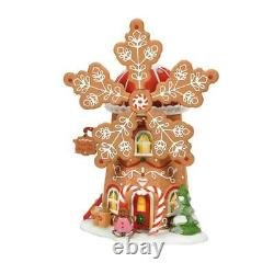 Department 56, North Pole Series, Gingerbread Cookie Mill (6007610)