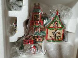 Department 56 North Pole Series Glass Ornament Works. Heritage Village Collect