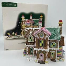 Department 56 North Pole Series Sugar Hill Row House Candy Gingerbread Village