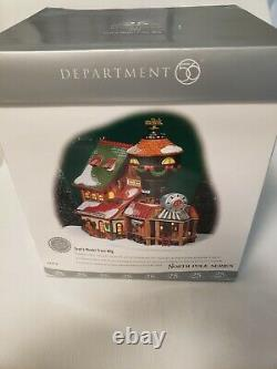 Department 56 North Pole Series Toot's Model Train Brand New