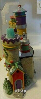 Department 56 North Pole Series Village Animated Yummy Gummy Gumdrop Factory