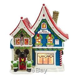Department 56 North Pole Series Village Mickeys Pin Traders with Pin Light 8.18