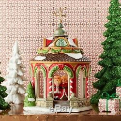 Department 56 North Pole Village 40th Anniversary Gazebo Building 4050966 New