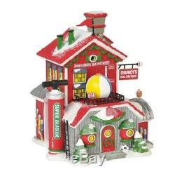 Department 56 North Pole Village Bouncy's Ball Factory 6000614 Retired 2018