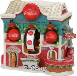Department 56 North Pole Village Coca Cola Bottle Caps 4056665 R2018
