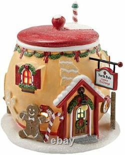 Department 56 North Pole Village Cookie Exchange Building 4020208 NEW RARE