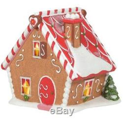 Department 56 North Pole Village Ginger's Cottage Building 6005428 New