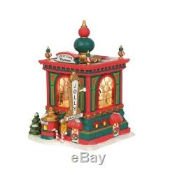 Department 56 North Pole Village Jolly Club Ballroom Building Figurine 6003107