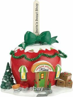 Department 56 North Pole Village Katie's Candied Apples Lit House 4030715 New