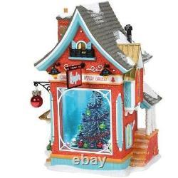 Department 56 North Pole Village Kringles Christmas Tree Display Gallery 6007609